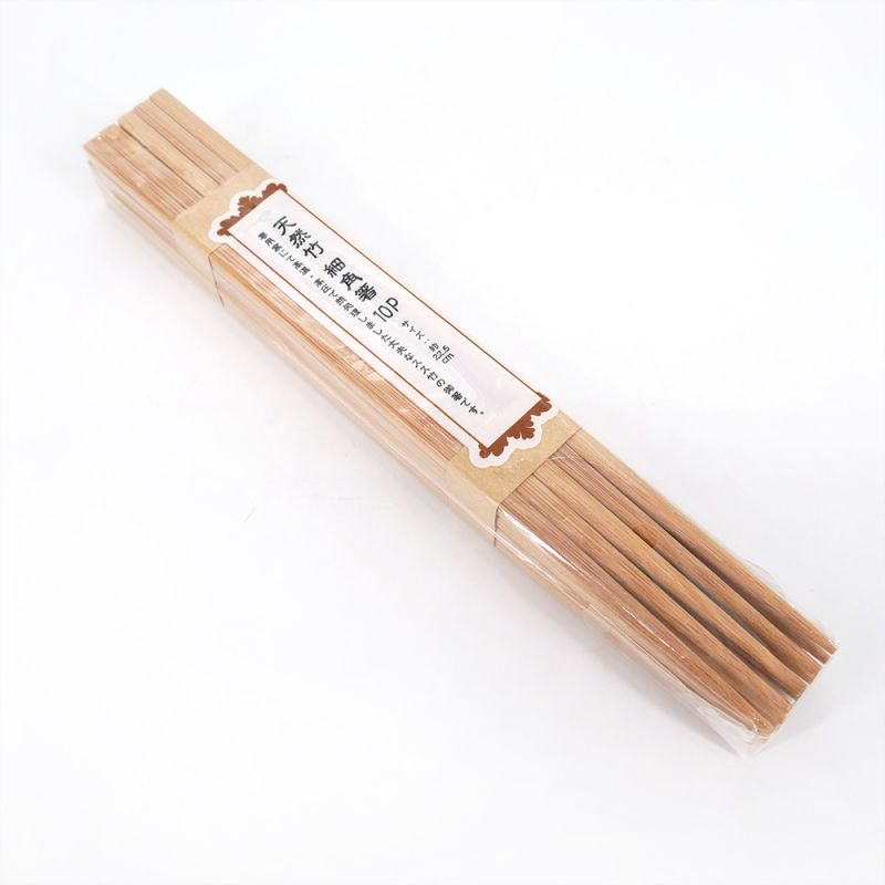 Pair of Japanese chopsticks in natural wood - TANAKA HASHITEN