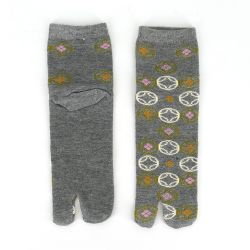 Japanese cotton tabi socks, KOMAINU