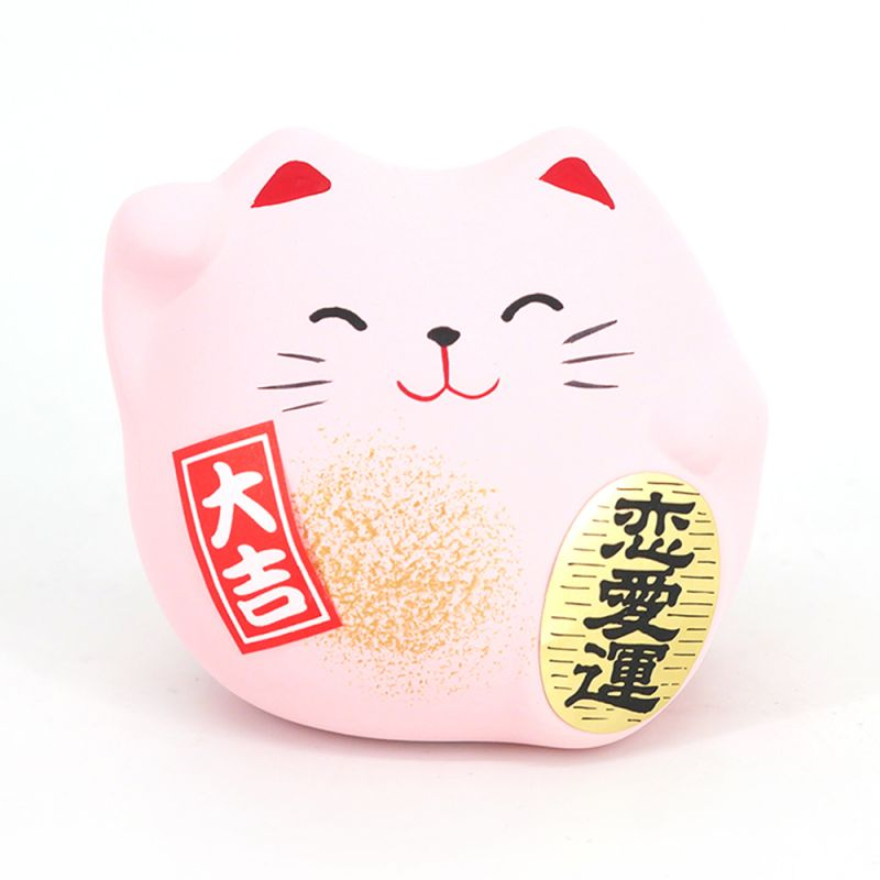 Japanese manekineko lucky cat, NEKOBORU, black, made in Japan