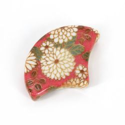 Japanese ceramic chopsticks rest - ITTAI - red
