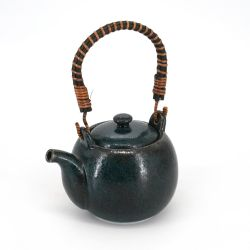 Japanese ceramic teapot - MARUI TIPOTTO - blue