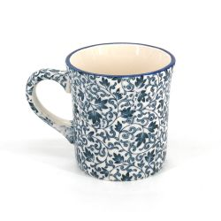 Japanese ceramic tea mug - KARAKUSA