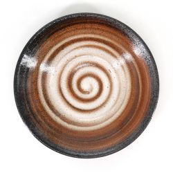 Japanese coffee swirl bowl - UZUMAKI KOHI