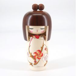 Japanese wooden Kokeshi doll - HARU NO YUME
