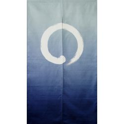 Japanese cotton Noren curtain, MARU