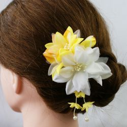 Flower hair pick - HANA KANZASHI