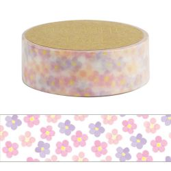 Masking Tape - LITTLE FLOWER WASHI TAPE - Pequeñas flores