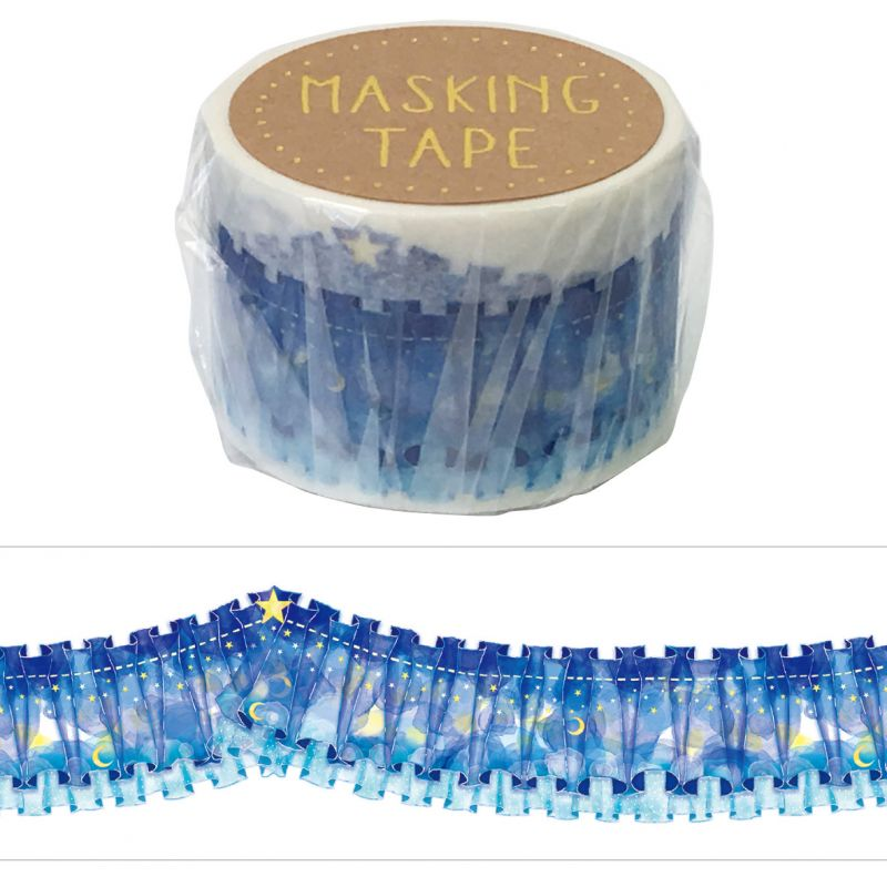 Masking Tape - LACE CURTAIN WASHI TAPE - Lace curtain