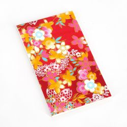 Japanese notepad, 20 sheets - YUZEN CHIYOGAMI -
