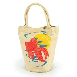 100% cotton tote bag, HAKURAI KINGYO