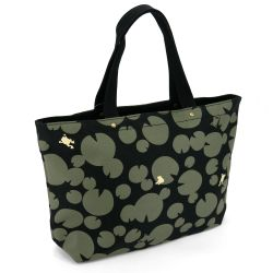 Japanese cotton & polyester bag, SUIREN 7502G, black