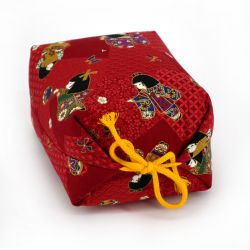 Makura small cushion with geisha pattern - MAKURA GEISHA