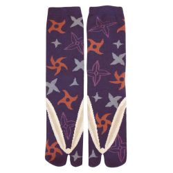 Japanese cotton tabi socks, SHURIKEN