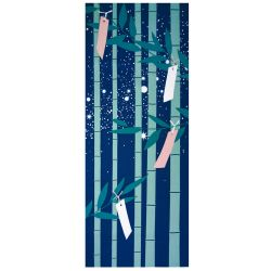 Japanese cotton towel - TENUGUI - TAKE