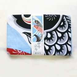 Japanese cotton towel - TENUGUI - KOINOBORI