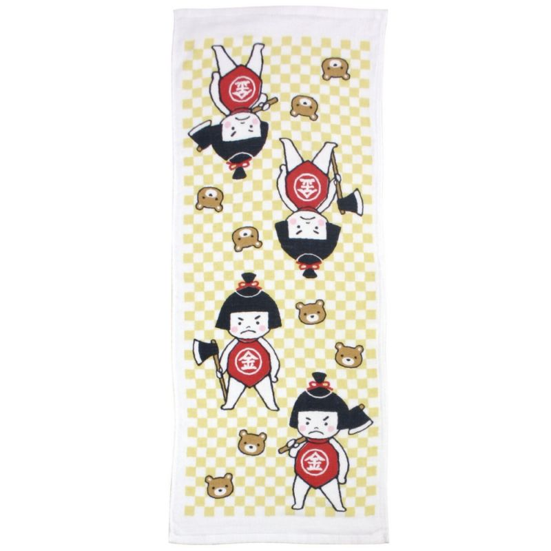 Japanese cotton towel - TENUGUI - KINTARO