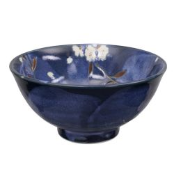 Japanese ceramic soup bowl - SAKURA