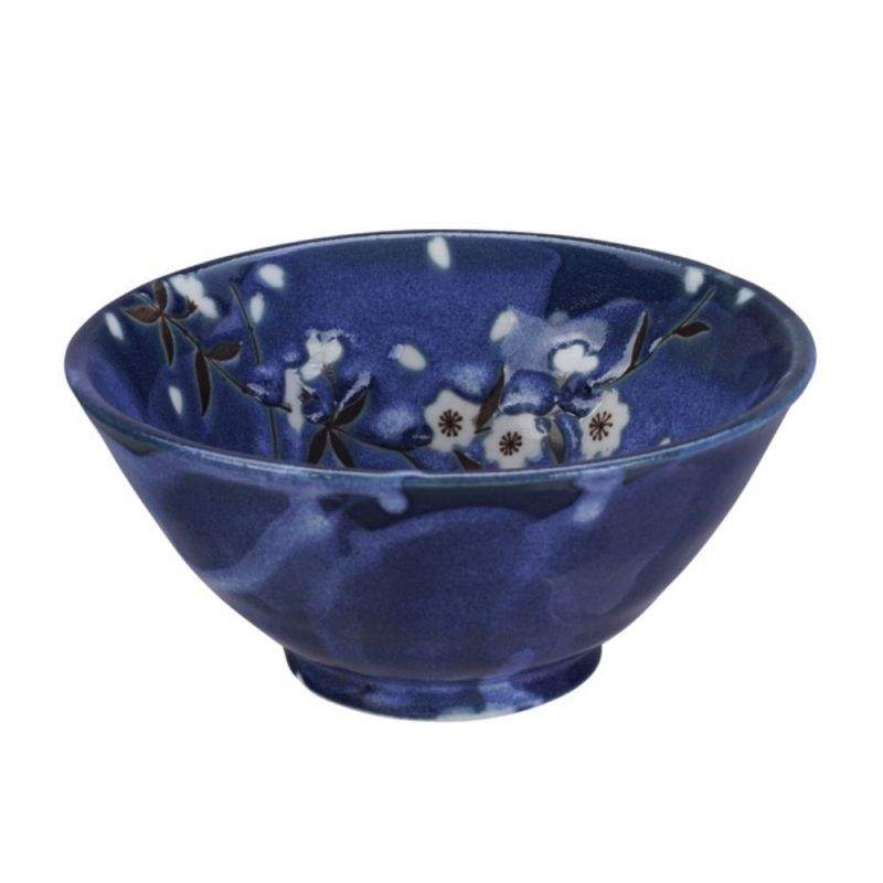 Japanese cherry blossom ceramic rice bowl - SAKURA