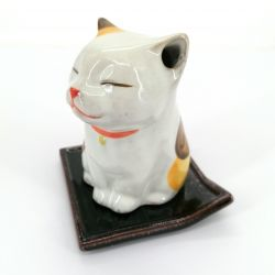 Japanese incense holder for stick and cone - NEKO