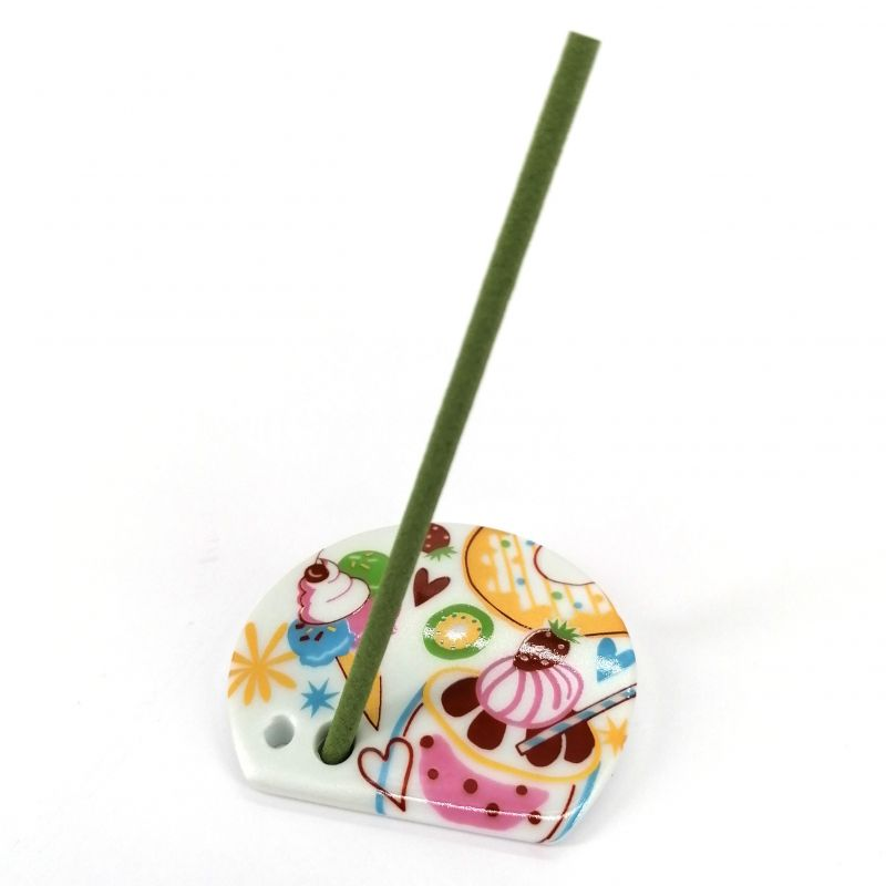 Japanese porcelain incense holder - CANDY - Douceur