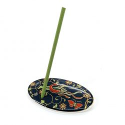 Japanese porcelain incense holder - SARASA - Chintz