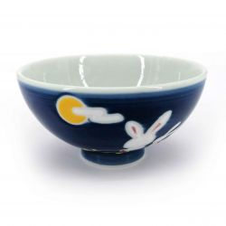 Small Japanese ceramic bowl - AO USAGI