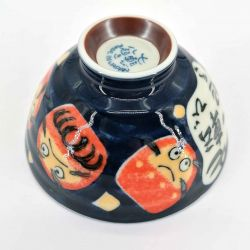 Japanese ceramic rice bowl - DARUMA