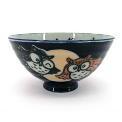 Japanese ceramic rice bowl - FUKURO
