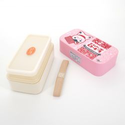 Japanese lunch box S, FUKUINU, pink