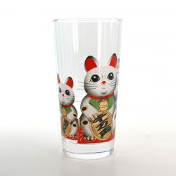 tumbler glass with pictures  MANEKINEKO