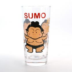 tumbler glass with pictures  COMIC SUMO