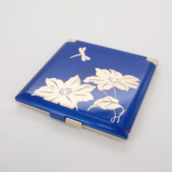 blue pocket mirror, TOMBO, dragonfly
